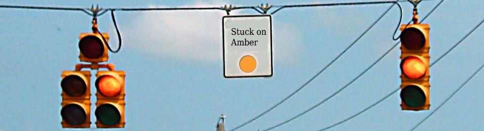 Stuck on Amber  (Music as a soundtrack for leadership)